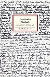 Notizbuch: 31. August 1978 - 18. Oktober 1978 (Insel-Bücherei, Band 1367)