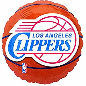 Costumes 203685 Los Angeles Clippers Basket-Foil Balloon