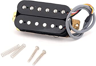 Musiclily Pro 50mm Humbucker Pickup for Electric Guitar Neck, Black