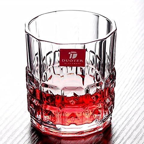 Beer Mug verre cristal Whiskey tasse tasse de lait jus vin Eau Verre Tasse 300ML,UN