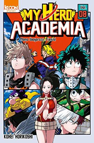 My Hero Academia T08 (SHONEN MY HERO t. 8) par Kohei Horikoshi