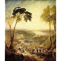 a34ec235a8 Der Museum Steckdose – Die Bäder, Venus und Demosthenes von Joseph Mallord  Turner – A3