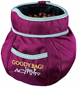 Trixie 32281 Dog Activity Goody Bag Snack Sacoche à friandises pour chien 11 x 16 cm