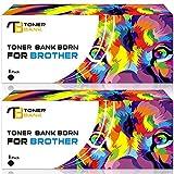 2-Packung Toner Bank Toner Kartuschen Kompatibel mit CE285A 85a für HP LaserJet Pro P1100 P1102 P1102W P1102WHP; Pro M1132 M1210 M1130 M1212NF M1217NFW; Canon LBP6000; Canon MF3010 1600 Seiten