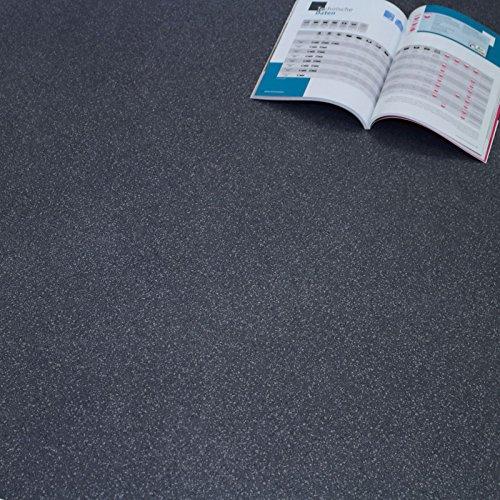PVC Bodenbelag Granit Blau Dunkel Objekt42 Gewerbe Wohnbau Breite 4 m (18,95 € p. m²)