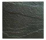 XL Glas Herdabdeckplatte Herdabdeckung Schneidebrett Abdeckplatte für Ceranfeld Induktionsfeld Schiefer Optik Kochfeld Abdeckung Spritzschutz Herdblende