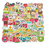 XINGSd meritorious 4 Styles Pvc Waterproof Cartoon Creative Sticker Laptop Motorcycle Skateboard Baggage Sticker Diy Decorative Graffiti Stickers(None MC)