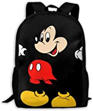 Custom Mickey Mouse Casual Backpack School Bag Travel Daypack Gift