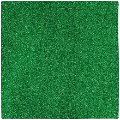 House, Home und Mehr Outdoor Turf Teppich-Grün-Mehrere Größen zur Auswahl 6-Feet X 12-Feet Grün -