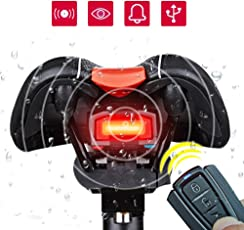 ROCKBROS 3 in 1 Intelligent Anti-Theft Alarm Warning Electric Wireless Bell Waterproof and Rechargeable Bicycle