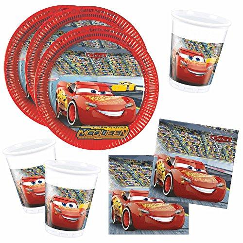 Disney Cars - Party Anniversaire Set Party Vaisselle Race