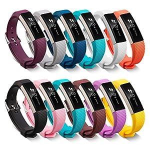 Fitbit Alta HR Correa, Malloom Recambio pulsera banda silicio correa cierre de Fitbit Alta HR Smart Watch pulsera por Malloom