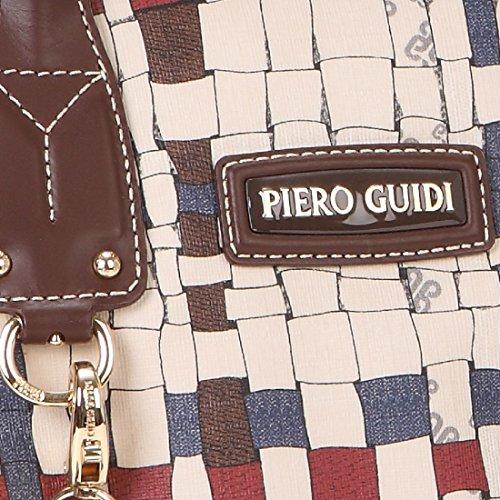 Bauletto Medio PIERO GUIDI Intreccio Art Donna - 316G91529 Cacao