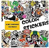 YLGG Simpsons Autocollants pour DIY Stickers Graffiti Ordinateur Portable Guitare Bagages Valise Planche À roulettes Moteur De Voiture Autocollant Jouets pour Enfants 50 Pcs