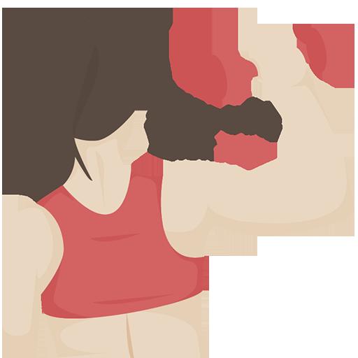 yoga daily fitness - build body girl