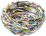 TUTKI 40-Pièces - Grands Rouleaux de Papier Journal pour créer Votre Propre Panier Rond, Multicolore
