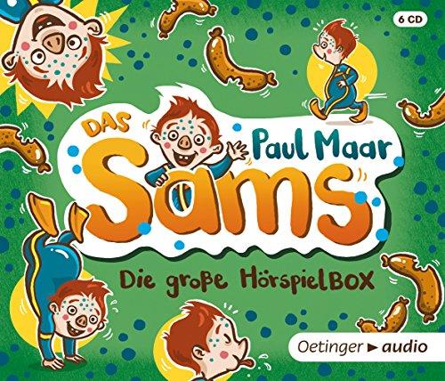 Preisvergleich Produktbild Das Sams. Die große Sams Hörspielbox (6 CD): Hörspiele, 314 Min.