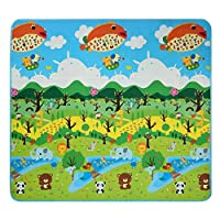 Smibie Baby Kid Toddler Play Crawl Mat Carpet Playmat Foam Blanket Rug for In/Out Doors