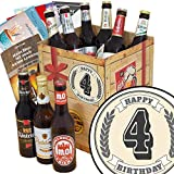 4. Geburtstagsgeschenk | Bierset | Ostdeutsche Biersorten