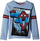 #3: Amazing Spiderman Boys' Long Sleeve Top
