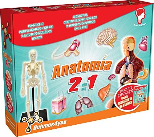 Science4you - Anatomía 2 en 1, Juguete Educativo y científico (602656)