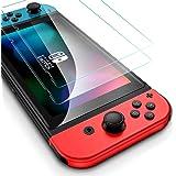 Flysee Protector de Pantalla para Nintendo Switch, [2-Unidades] Cristal Templado para Nintendo Switch [Fácil Instalación, Sin