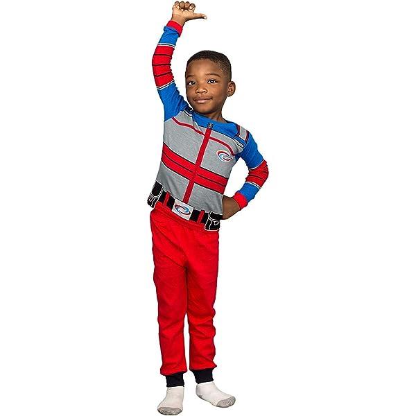Nickelodeon Boys Henry Danger Costume Pajama Set: Amazon.co
