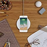 Belkin BOOST UP 7.5 W Wireless Charging Pad for iPhone X, iPhone 8 Plus, iPhone 8 and other Qi-Enabled Devices (Designed with Apple, Qi-Certified) - White Bild 10