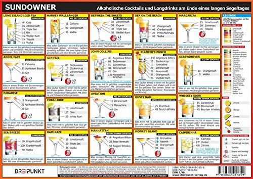Sundowner: Alkoholische und alkoholfreie Cocktails und Longdrinks am Ende eines langen Segeltages