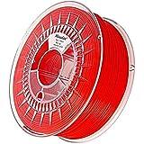 Minadax® 1kg Premium Qualitaet 1,75mm PLA-Filament rot fuer 3D-Drucker hergestellt in Europa