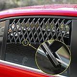 Hinmay Fensterschutzgitter für Haustiere, ausziehbar, für Autofenster