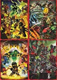 LEGO Ninjago 2 (Serie 2) - Set de tarjetas de rompecabezas completo 36 Cartas - Alemán Edición