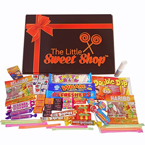 The Little Sweet Shop - 21 Old Fashioned Retro Sweets - The Letterbox Buster