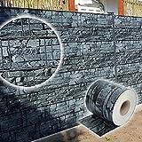 Letech Sichtschutzfolie Sichtschutzstreifen 70m PVC Zaunfolie inkl. 30 Befestigungsclips (Schiefer)