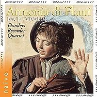Armonia di Flauti: Bach, Vivaldi (Arr. for Flute Quartet)