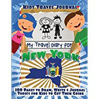 Kids Travel Journal: My Travel Diary for New York
