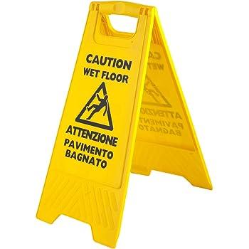 Safetysignsupplies cartelli segnalazione di sicurezza attenzione pavimento bagnato - Segnale pavimento bagnato ...