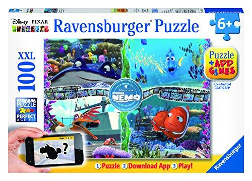 Preisvergleich Produktbild Ravensburger Spieleverlag 13661 - Findet Nemo - 100 Teile XXL, QR Code für die Gratis-App
