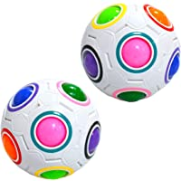 Maomaoyu Magic Rainbow Ball Cube Puzzle Magique 3D Puzzle Football Magic Speed Cube pour Enfants Jouet Éducatif…