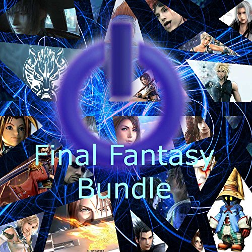 Final Fantasy Game Save Bundle for PS1, PS2, PS3, PSP, Wii &...