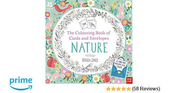 National Trust The Colouring Book Of Cards And Envelopes