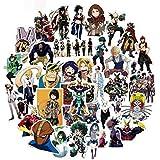 50PCS / Set Il Mio Academia Adesivi Giappone Anime My School of Heroes per Il Computer Portatile Deposito Auto Skateboard Sti