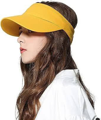 Fasbys - Cappello estivo estivo unisex con visiera elastica da golf