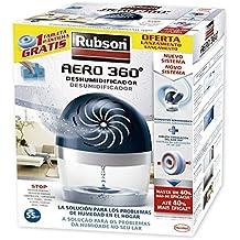 Rubson - Deshumidificador Rubson Aero 360, 450gr