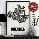 Dresden Buchstabenort Schwarz au