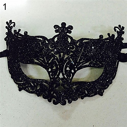 (Yimosecoxiang Yimosecoxiang Neue Halloween Make-up Requisiten Special Festival Angebote Frauen Mode Cosplay Augenmaske Maskenade Karneval Fasching Karneval Weihnachten Party)