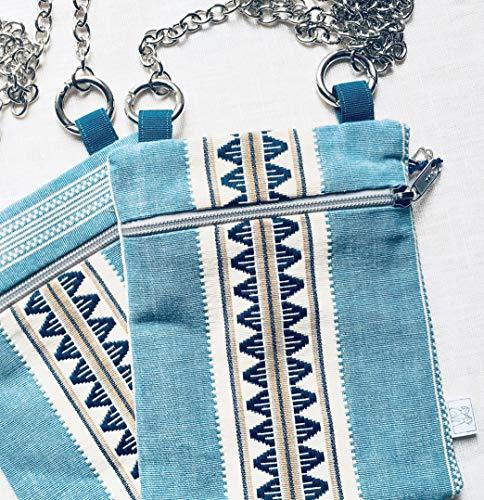 Minipoche-Maya-in-tessuto-di-cotone