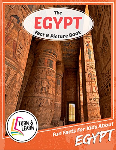 The Egypt Fact and Picture Book: Fun Facts for Kids About Egypt (English Edition)