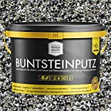 Buntsteinputz schwarz/beige/grau/weiss 20kg