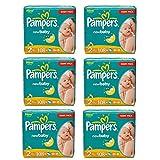 Pampers Windeln Baby Dry Mini 2 Gr. 3-6 Kg bis zu 648 Stk. (Mini 6 x 108 = 648 Stk)
